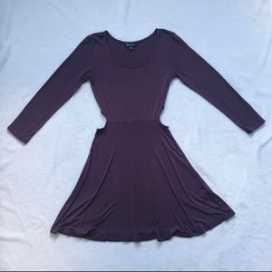 American Eagle soft and sexy purple dress.